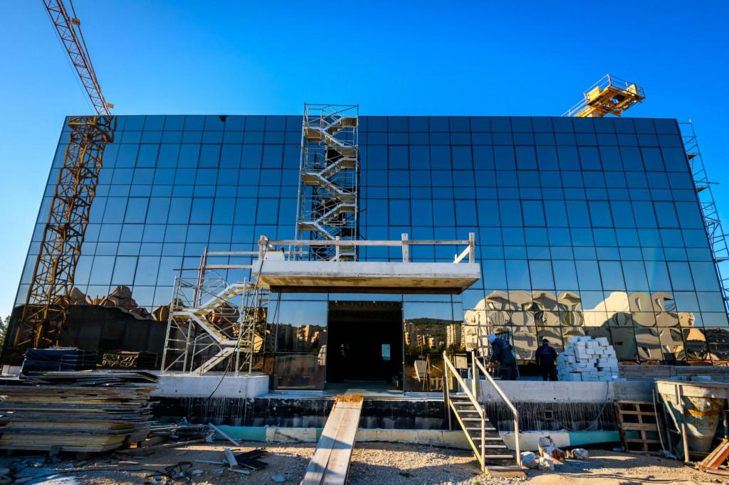 Gradilište novog Studenskog doma na Palacinu