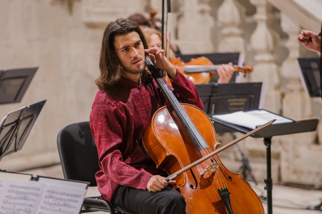 DSO, Marc Tardue i cellist Vid Veljak