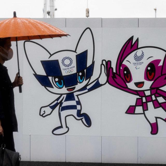 Maskote Olimpijskih igara Miraitowa i Someity