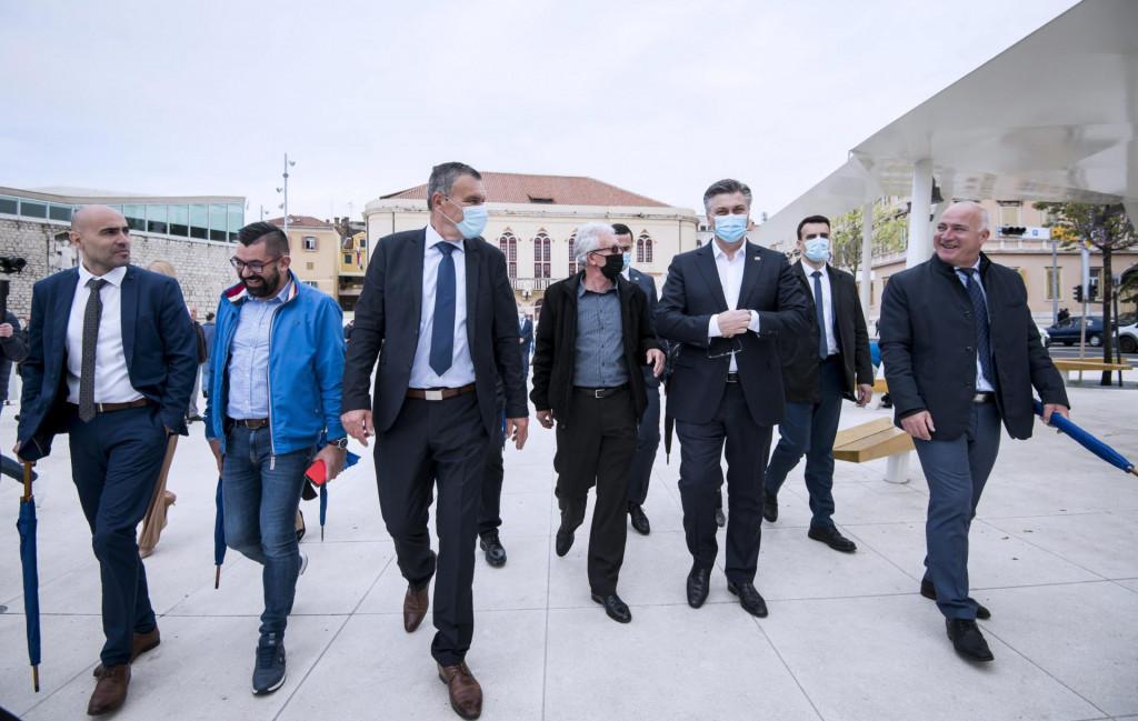 Premijer je posjetio Šibenik prije točno mjesec dana...