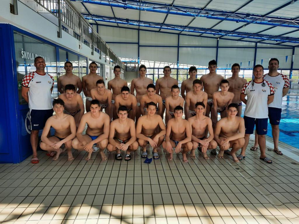 Vaterpolska U15 reprezentacija u Šibeniku igra kvalifikacijski turnir za Europsko prvenstvo