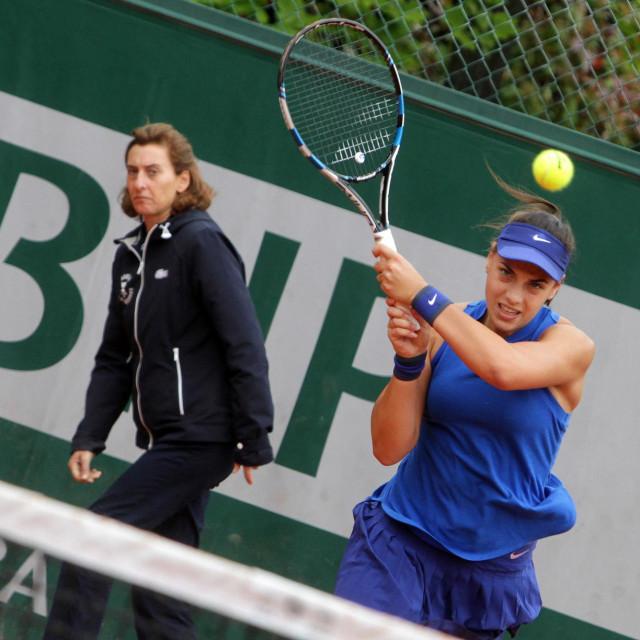 Ana Konjuh u Roland Garrosu 2016. godine