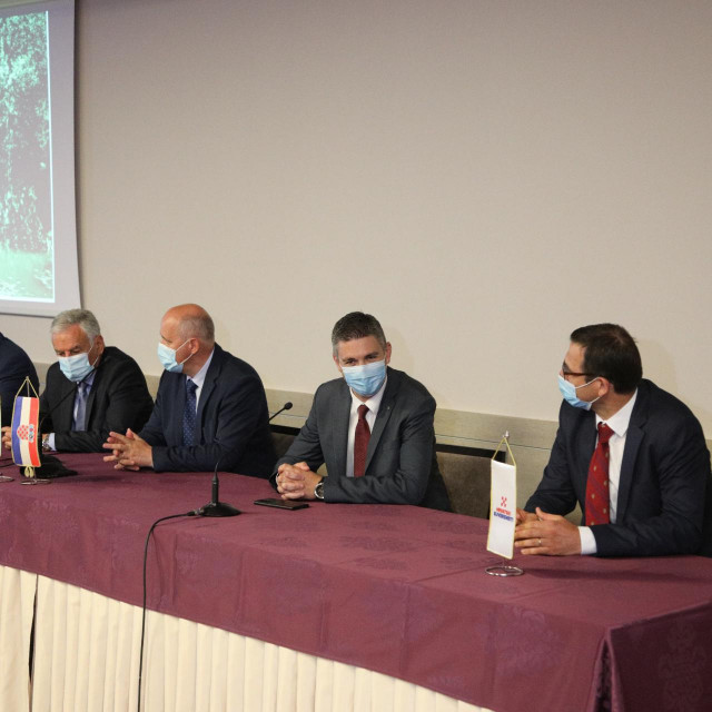 Press konferencija HDZ-a u Hotelu Adria