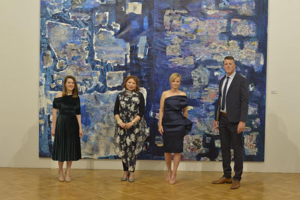 """Nikolina Šimunović otvorila izložbu """"Lapis Lazuli"""" kojom obilježava 20 godina izlaganja"""