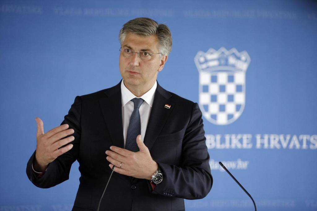 Premijer Plenković u petak je javnosti obznanio odluku Vlade
