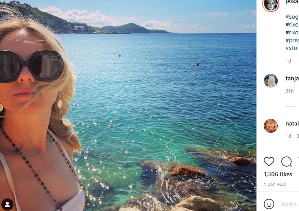 Glumica i aktivistica Jelena Veljača odmara u Dubrovniku