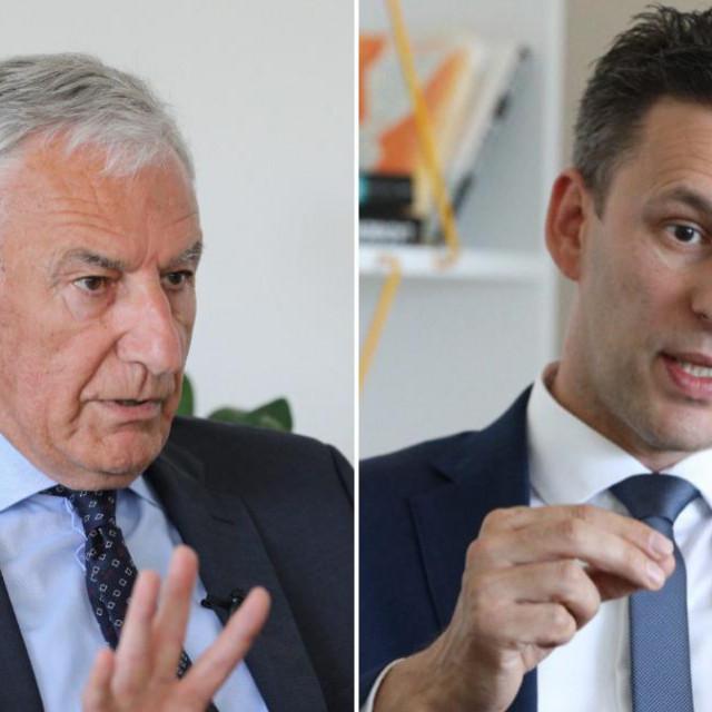 Kandidati za Dubrovačko-neretvanskog župana u drugom krugu lokalnih izbora Nikola Dobroslavić (HDZ) i Božo Petrov (Most)