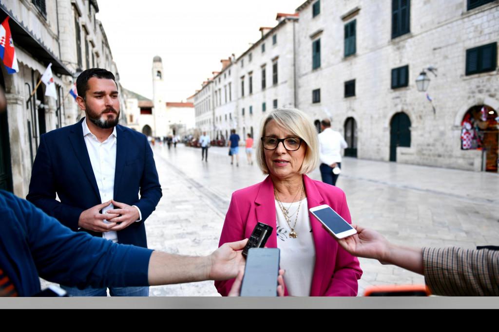 Joško Cebalo i Jelka Tepšić, kandidati za zamjenike župana i gradonačelnika HDZ