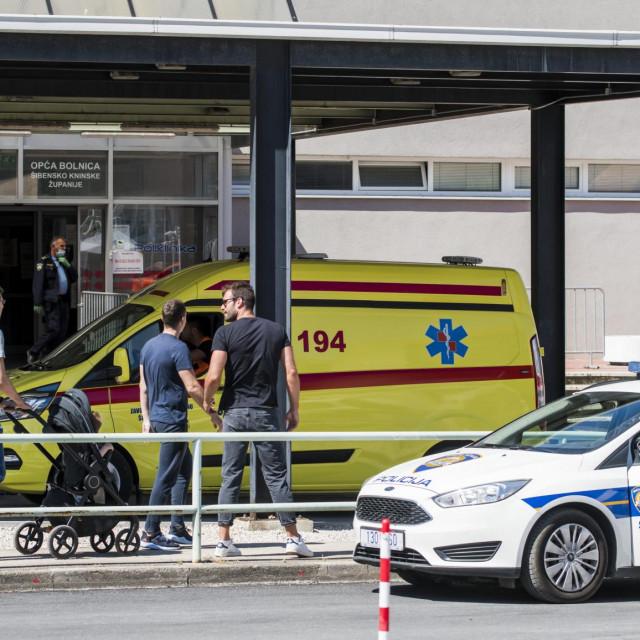 U šibenskoj bolnici zbrinuto devet ozlijeđenih migranata
