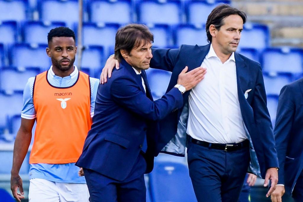 Conte i njegov nasljednik na klupi Intera, Simone Inzaghi