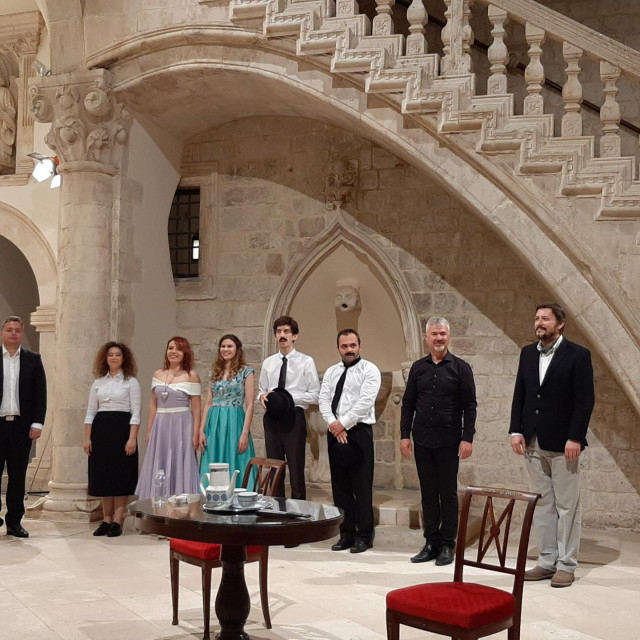 Slijeva: Ante Blažević, Katarina Šarić, Marija Ostrugnjaj, Iva Herman, Blaž Galojlić, Igor Krišto, Slobodan Begić, Berislav Jerković