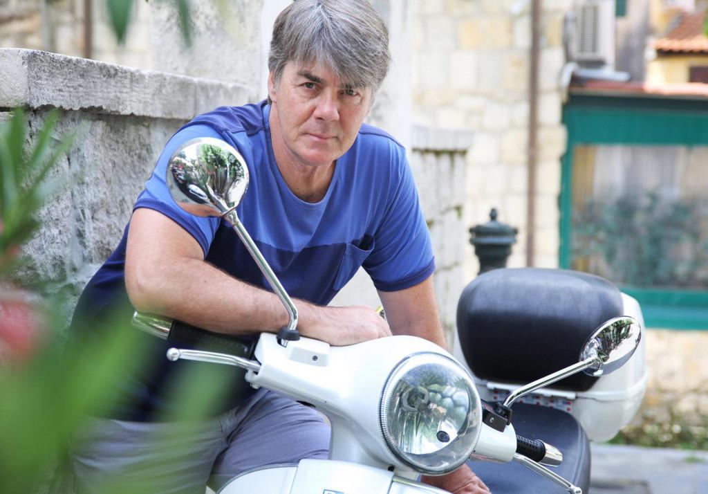 Mario Budimir, bivši vaterpolist, široj javnosti znan i kao suprug Doris Dragović<br />