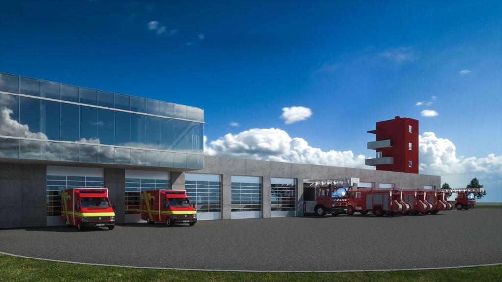 Ovako će izgledati novi Vatrogasni dom u Šibeniku