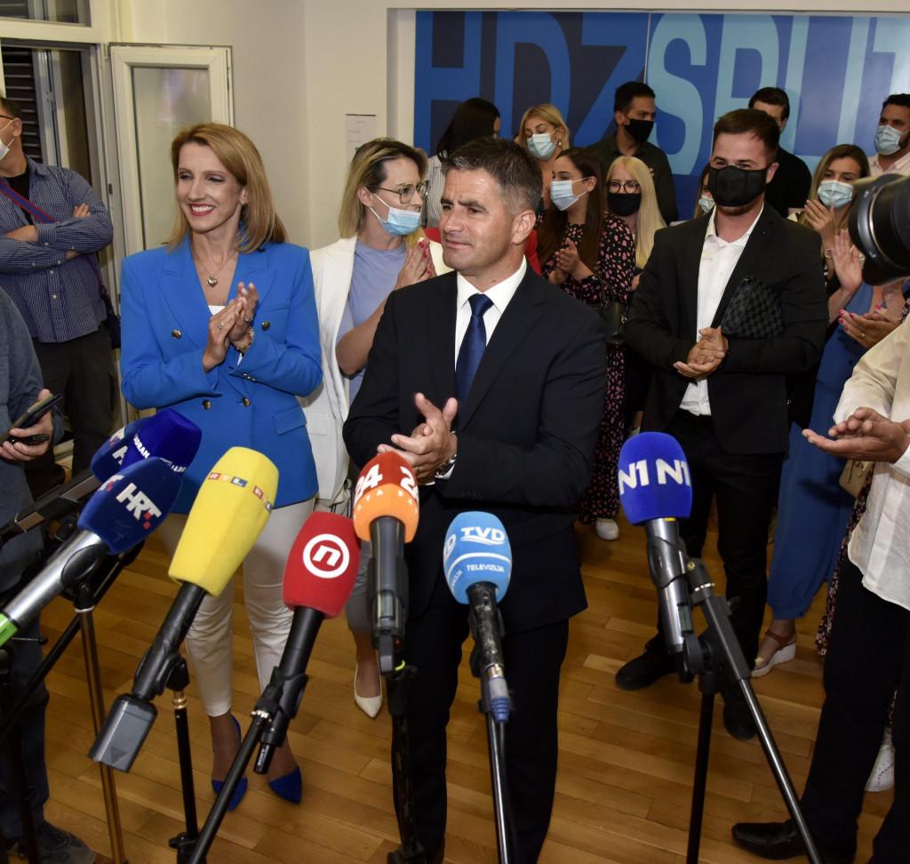 Vice Mihanović nakon objave neslužbenih rezultata u drugom krugu lokalnih izbora<br />