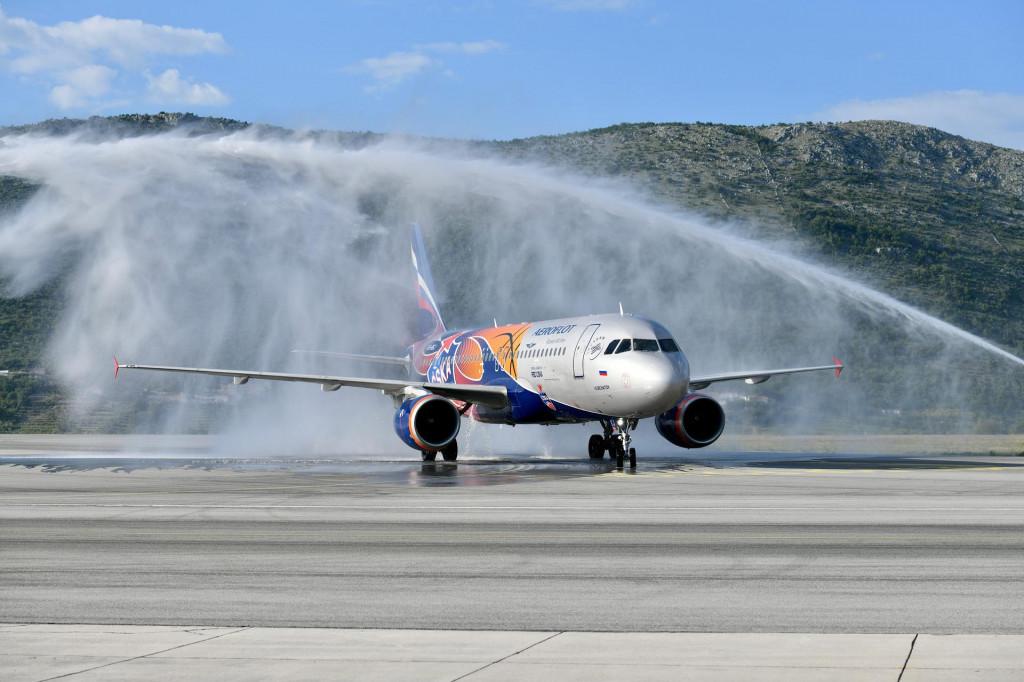 Aeroflot započeo s prometom na liniji Moskva - Dubrovnik