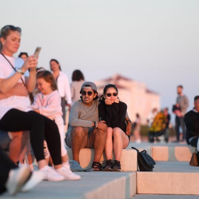 Turisti jučer u Zadru