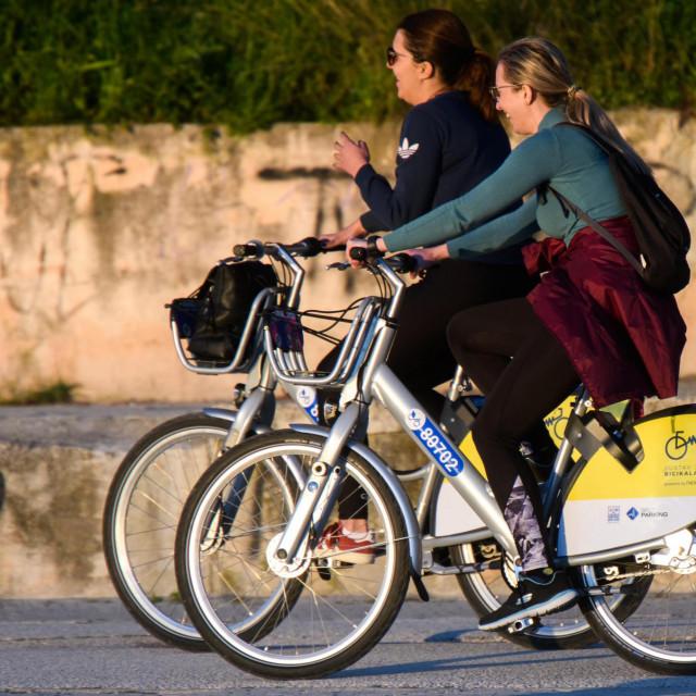 Javne bicikle su sve popularniji način prijevoza u Splitu
