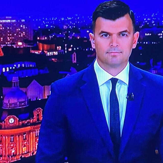 Ivan Vrdoljak večeras je prvi put vodio RTL Direkt.