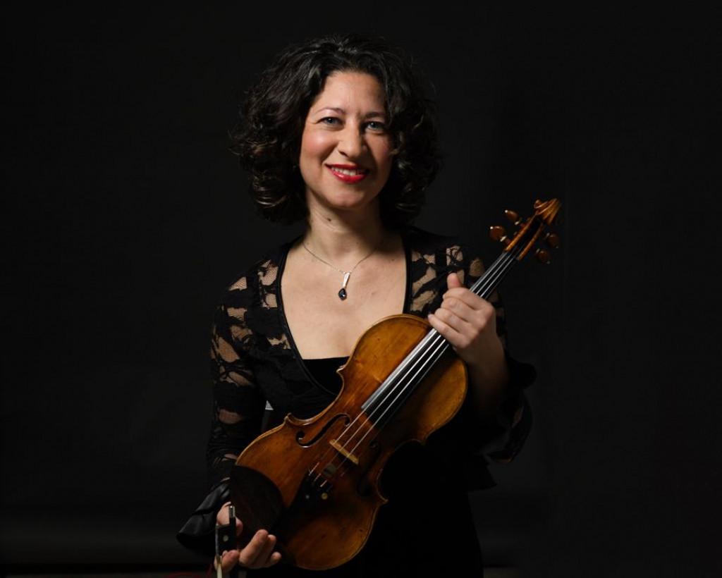 Mirabai Weismehl Rosenfeld violinistica, koncert DSO