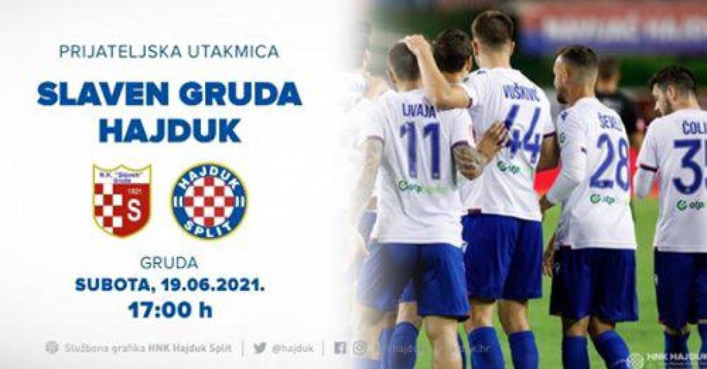 Slaven (Gruda) - Hajduk