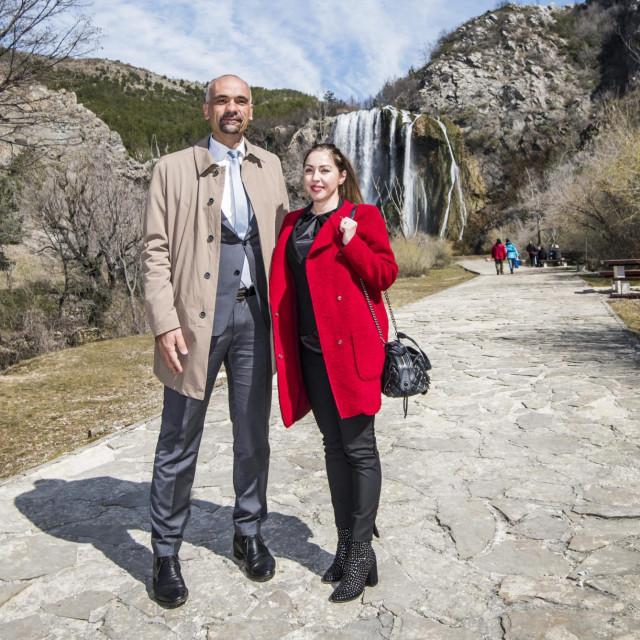 Marko Jelić i Iris Ukić Kotarac.<br />