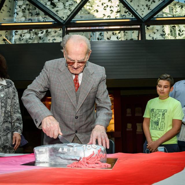 Proslava 100. rođendana Ante Bebana