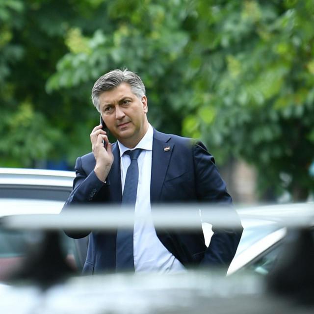 Premijer Andrej Plenković nazvao je gradonačelnika Zagreba