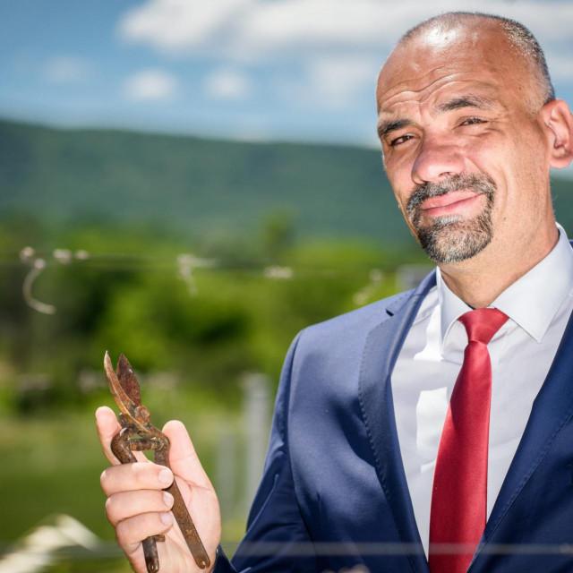 Novoizabrani šibensko-kninski župan Marko Jelić.<br />