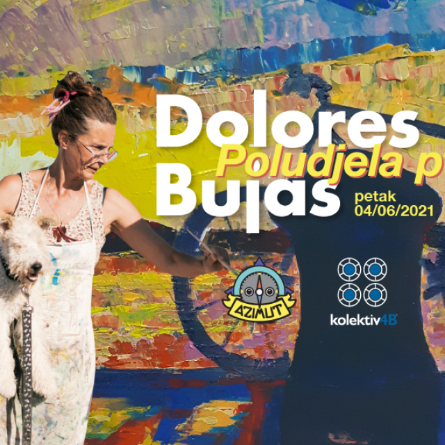 U Azimutu izložba 'Poludjela ptica' Dolores Bujas