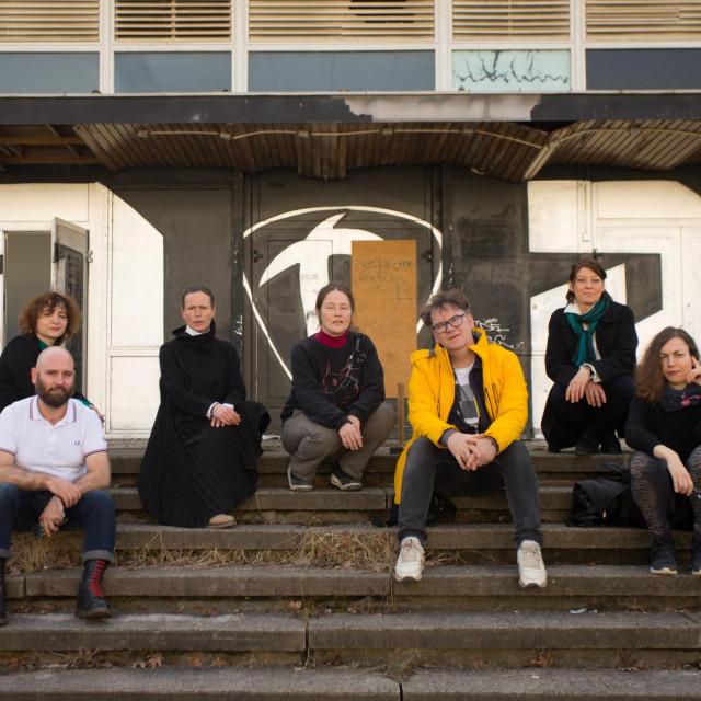 Kustoski tim bijenala u Dresdenu<br /> <br /> <br /> <br />