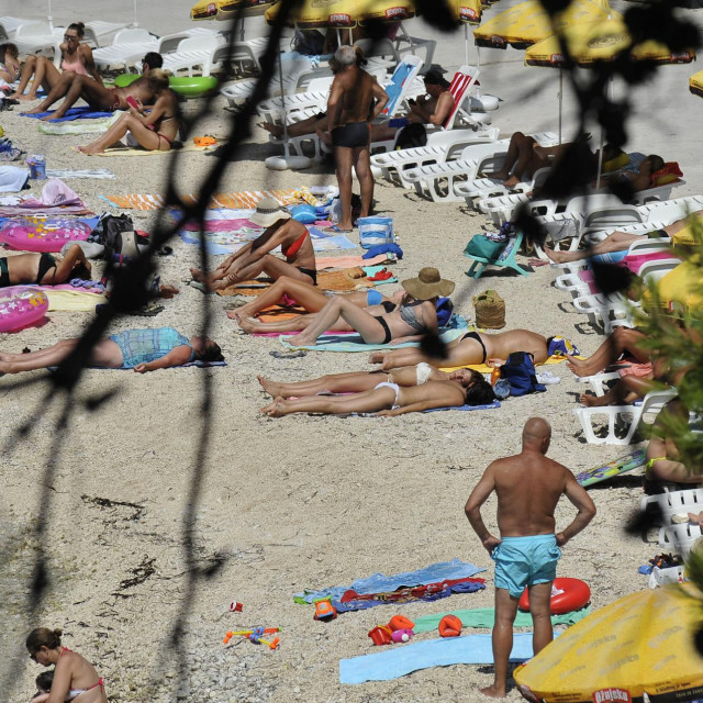 Sudeći prema statistici, svaki treći na kvarnerskim plažama je Nijemac