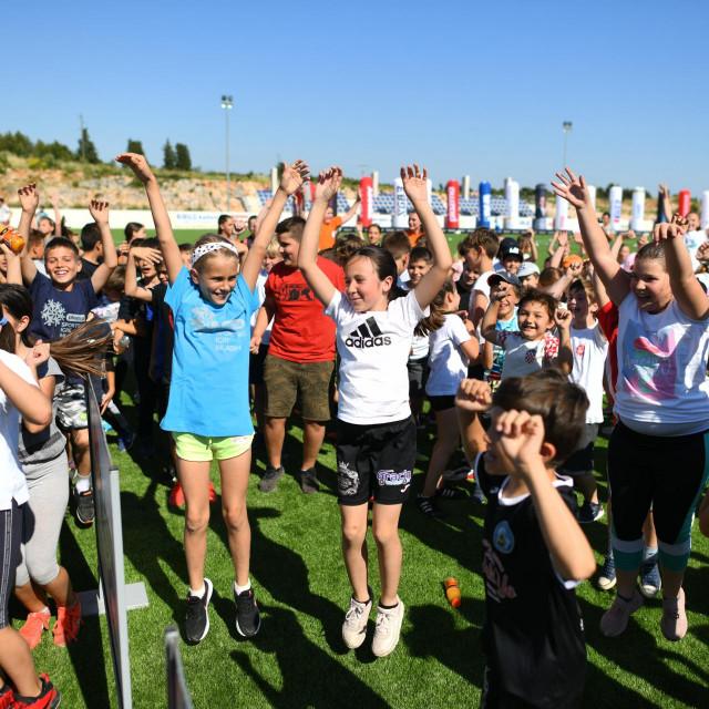 Plazma Sportske igre mladih i grad Vodice ugostili su Telemach Dan sporta