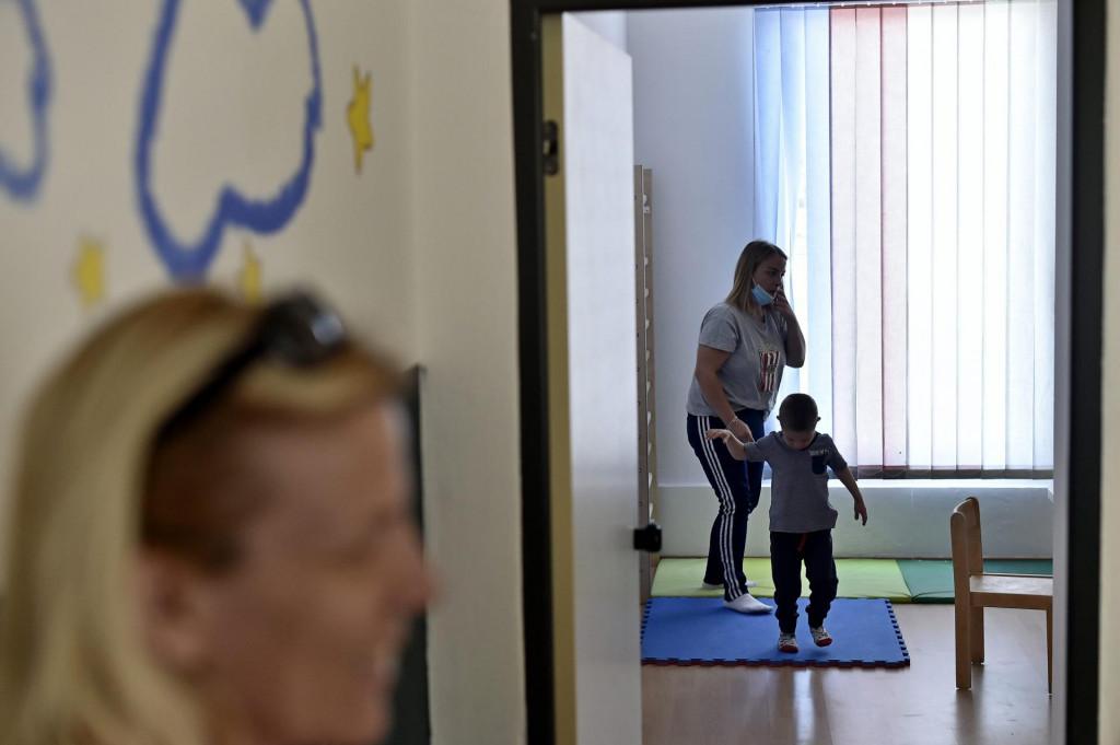 Split, 040620.<br /> Reportaza iz Udruge Andjeli.Clanovi udruge su roditelji djece s najtezim tjelesnim invaliditetom i djece s teskocama u razvoju.U sklopu udruge se nalazi i djecji vrtic Mali dupin.<br /> Na fotografiji: vrtic Mali dupin<br />