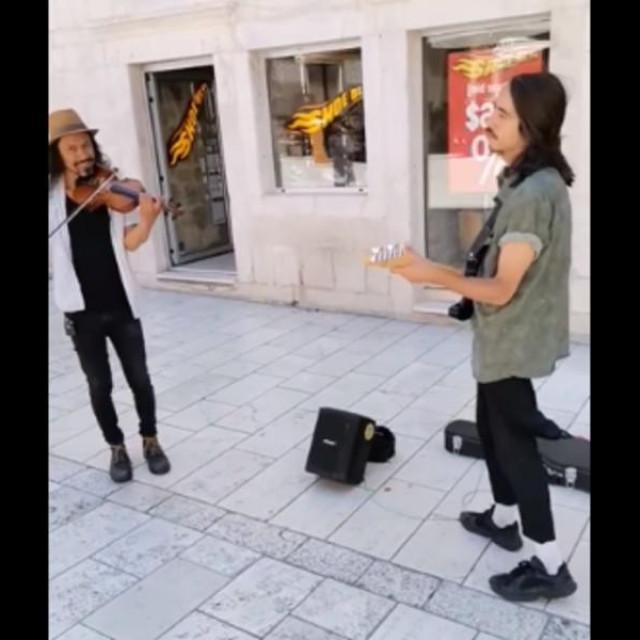 Argetinske glazbenike ovih su dana Splićani sretali na raznim lokacijama