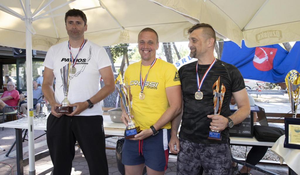 Petar Prkić, Stjepko Kesić i Mario Baleta