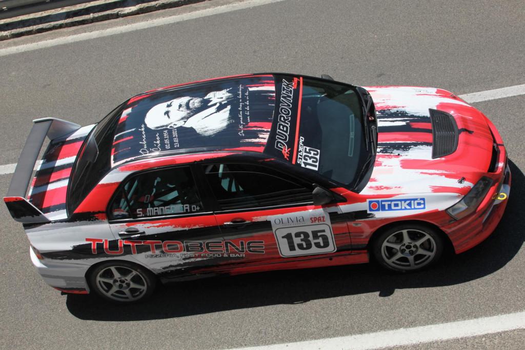 Stijepo Manenica (Dubrovnik Racing) u Mitsubishi Lanceru Evo IX pobjednik je grupe N na 15. Nagradi Grada Skarina, drugoj brdskoj utrci PH 2021. godine