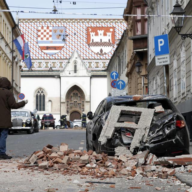 Zagreb na dan potresa: 14 mjeseci kasnije jednu jedinu ciglu s ruševina još nisu uklonili, jednu jedinu miješalicu betona nisu zamiješali