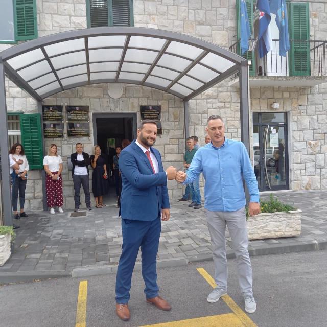 Mijo Dropuljić i Mladen Bartulović