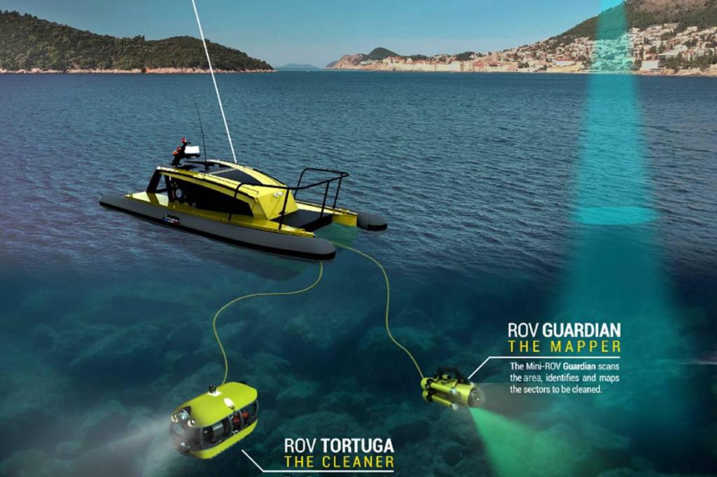 Autonomni robotski sustav skupljat će otpad s dna oceana