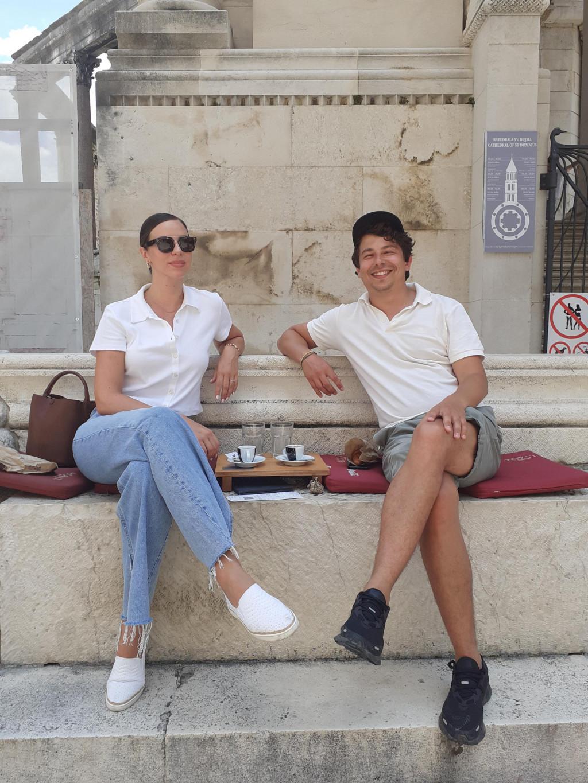 Jelena Stanković iz Dubaija je s Markom došla u sunčani Split