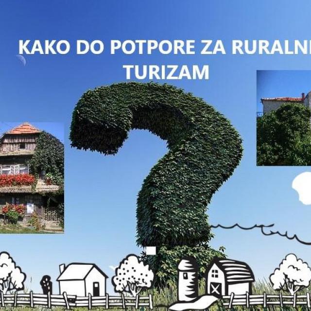 Kako do potpore za ruralni turizam