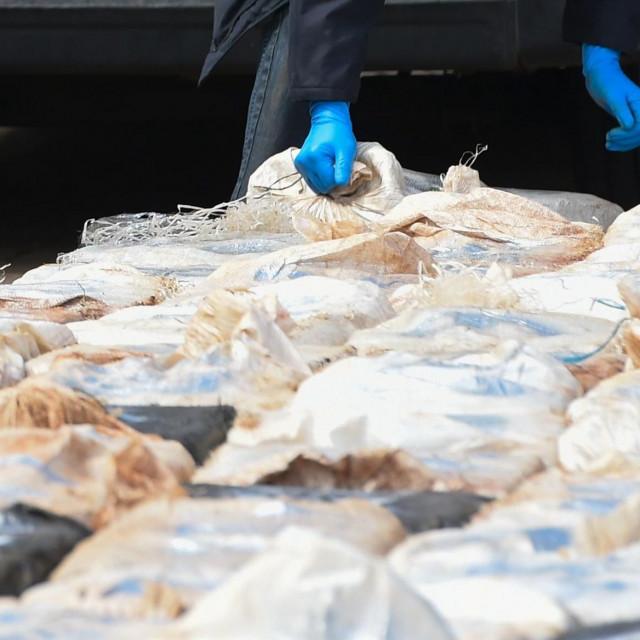 Na Malti je zaplijenjeno rekordnih 740 kilograma bijelog praha