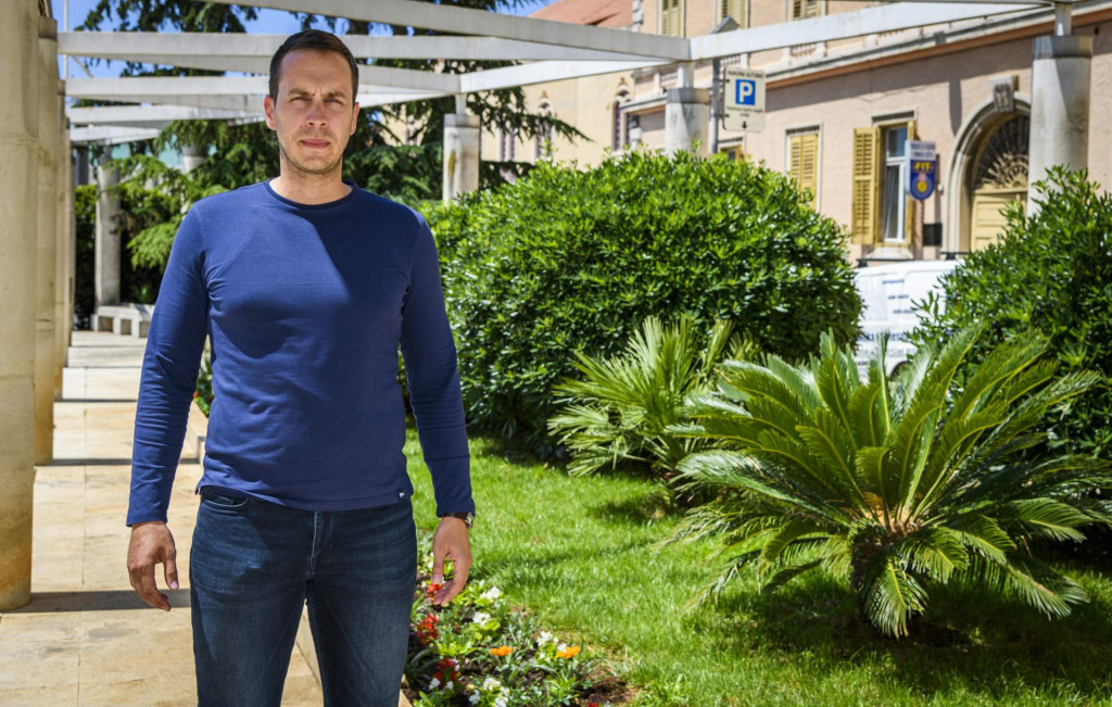 Ante Nakić, novi predsjednik Šibenke