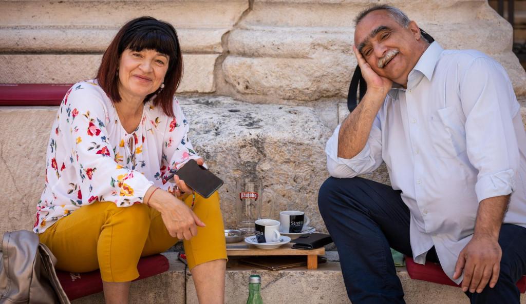 Kava na Peristilu - Šestan s našom novinarkom