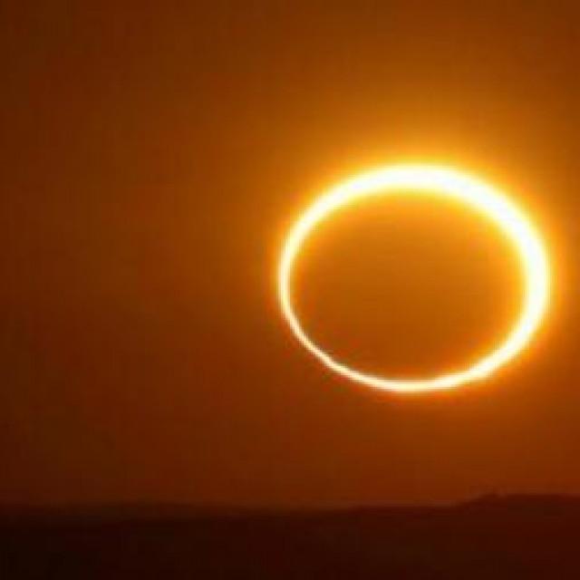 prstenasta pomrčina sunca ovaj put rezervirana je za stanovnike hladnog pojasa