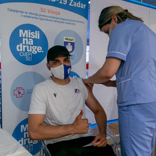 Cijepljenje KK Zadar