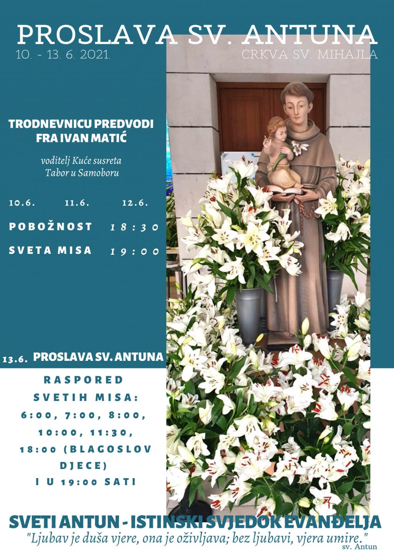 Trodnevnica ususret sv. Antunu