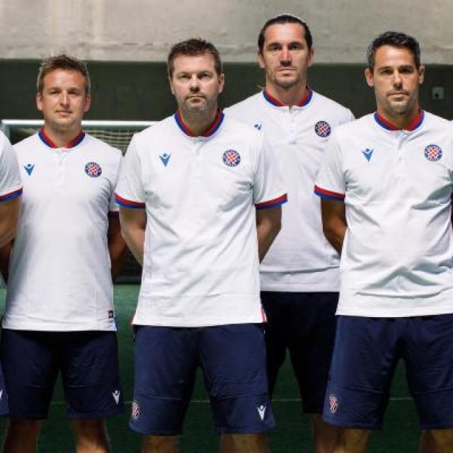 Novi stručni stožer Hajduka, Gustafsson s najbližim suradnicima