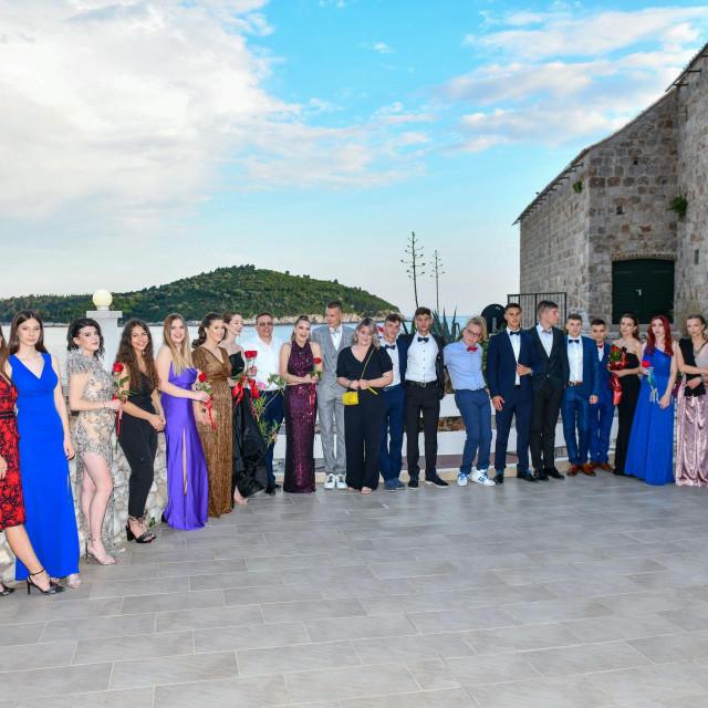 Dubrovacki vjesnik Dubrovnik, 11.06.2021. Maturalna zabava Privatne gimnazije.