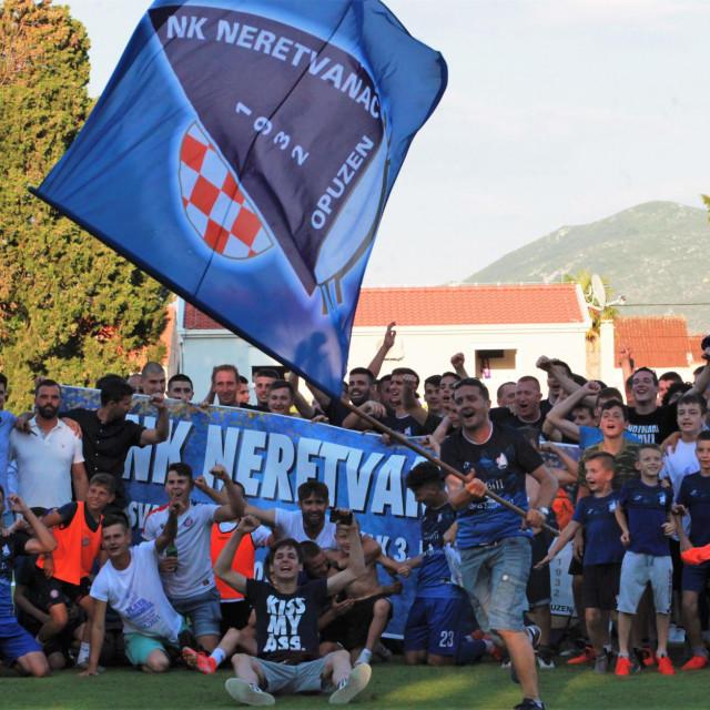 Povijesni uspjeh Neretvanca - dupla kruna u sezoni 2020./21., prvi put prvaci Treće HNL - jug, te četvrti put osvajači Županijskog kupa